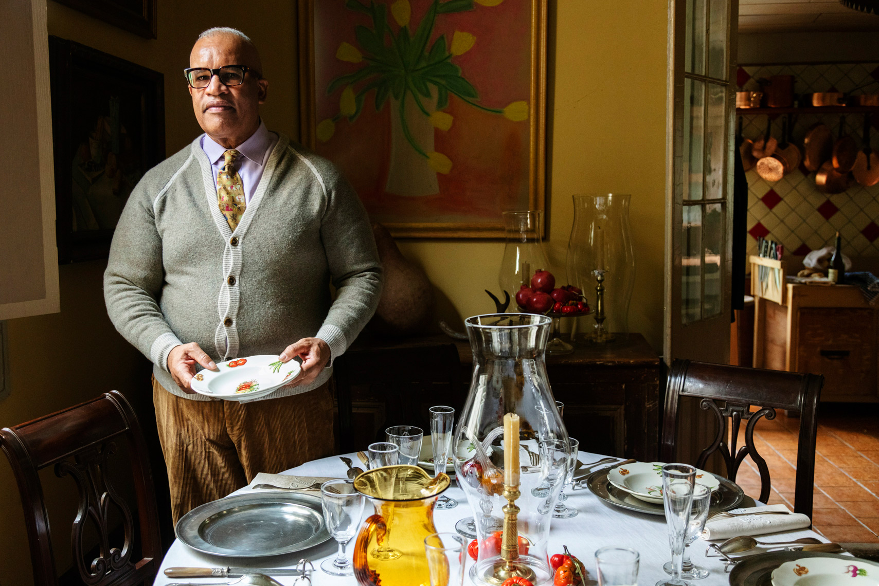 Kerry Moody in New Orleans. How people set their tables around the country for the NYT
